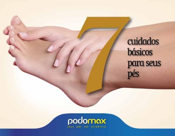 Cuidados básicos com o seus pés PodoMax